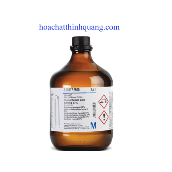 Hydrochloric acid fuming 37%